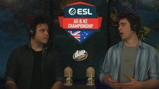 ESL AUNZ Championship 2019 - Dota 2: Stage 2, Matchday #1 | pro.eslgaming.com/anz