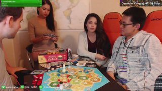 Settlers of Catan with Amaz, Zalae & Valkyrae