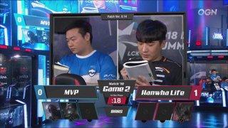 LCK Summer: HLE vs. MVP - JAG vs. KT