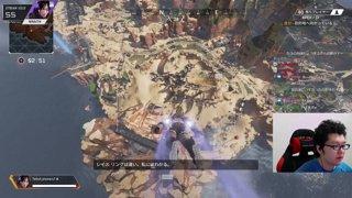 ソロレイス 2247damage Apex Legends「翔丸」