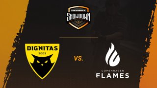 Dignitas vs CPH Flames - Mirage - Group A - DreamHack Showdown Valencia 2019