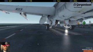 Mission #1: Recon | P3D@War | F/A-18E | United Protection