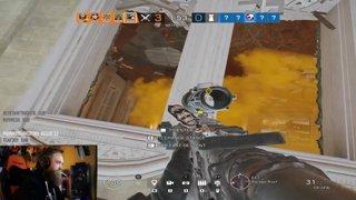 Upside Down Rappel is Insane