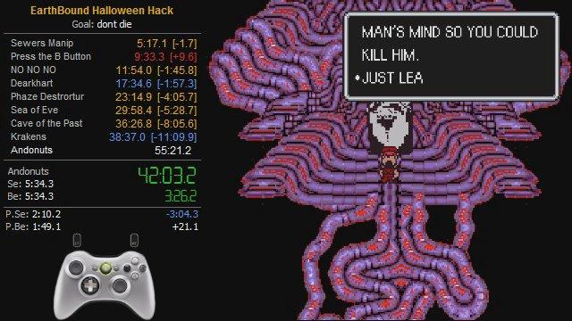 Blazephlozard - EarthBound Halloween Hack any% in 48:00 - Twitch