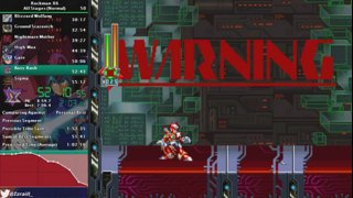 Izraill_Z - Rockman X6 (All Stages, Normal) in 57:46 (29:02 in-Game