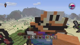 Tyger Makes Mario Themed Pixel Art On Minecraft   Part I