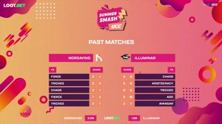 (EN) UCC Summer Smash | Nordavind vs Illuminar | map 2 | by @oversiard & @VortexKieran