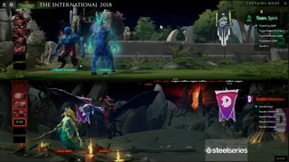 Double Dimension vs Team Spirit Game 2 | The International 8 CIS Qualifiers Losers' Round 1
