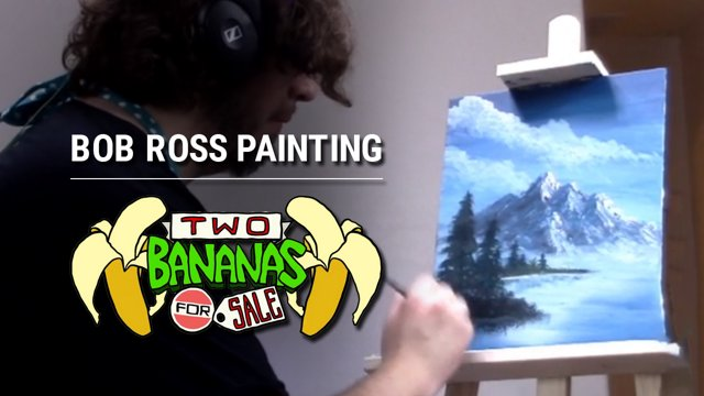 Coestar Two Bananas For Sale Bob Ross Painting Streamaday