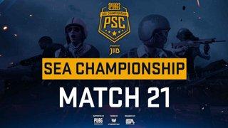 [PSC] [TH] JIB PUBG SEA Championship Phase 3  Game 21