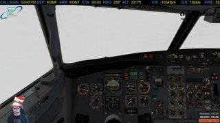 737-200 Butter Landing! | ILS 26R KONT