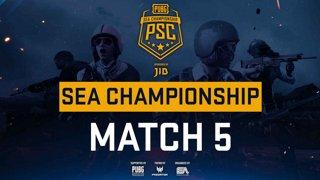 [PSC] [TH] JIB PUBG SEA Championship Phase 3 Game 5