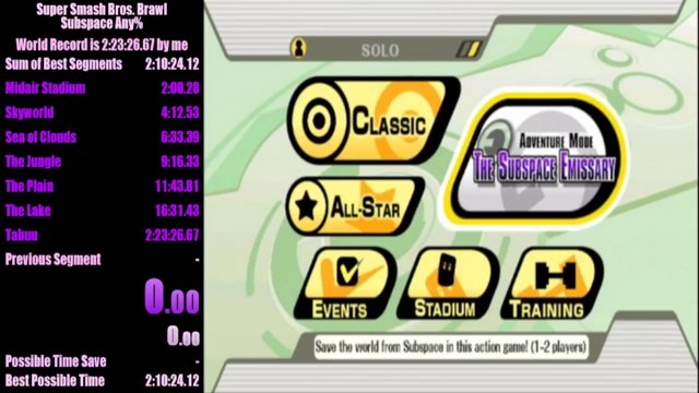 Super Smash Bros Brawl Subspace Emissary Any In 21857