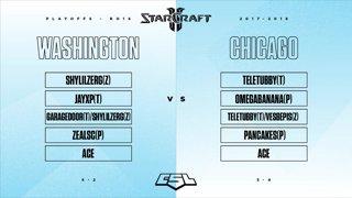 Playoffs Ro16: Washington vs Chicago