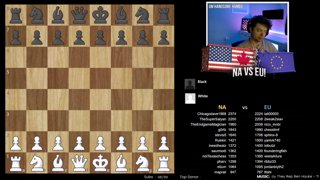 NA vs EU with commentary by GM Aman Hambleton