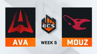 Avangar vs Mousesports - Map 3 - Mirage (ECS Season 7 - Week 5 - DAY1)