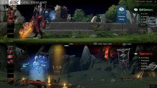 Team Secret vs Evil Geniuses | GESC: Thailand Round Robin | Day 2