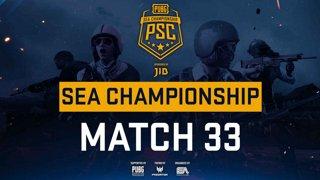 [PSC] [TH] JIB PUBG SEA Championship Phase 3  Game 33