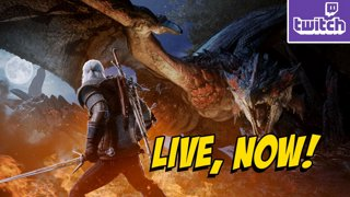 WITCHER X MONSTER HUNTER...Apex Legends Later? Maybe?! (Fri 2-8)
