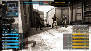 CS:GO - Isurus vs. compLexity [Train] Map 2 - Group A - ESL Pro League Season 9 Americas