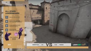 (EN) Heretics vs Vexed | Loot.bet/CS Season 3 | map 2 | by @oversiard & @VortexKieran
