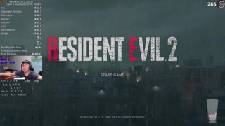 Highlight: Resident Evil 2 Remake Claire B World Record Attempts, !twitter