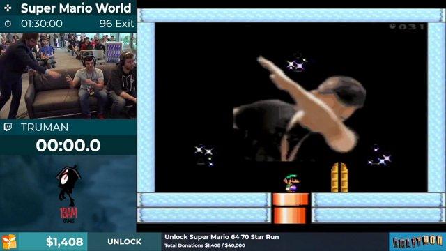 Calithon 2019: Super Mario World 96 exit run by Truman  Final Time
