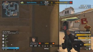 RERUN: CS:GO - OpTic vs. HellRaisers [Inferno] Map 1 - Group A - ESL Pro League Season 9 Europe