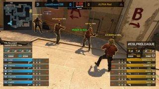 CS:GO - Alpha Red vs. Lucid Dream [Mirage] Map 1 - Group A - ESL Pro League Season 9 APAC