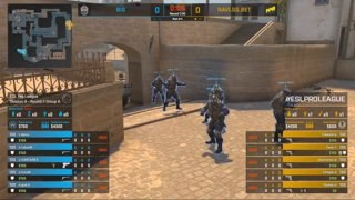 CS:GO - BIG vs. Natus Vincere [Mirage] Map 2 - Group B - ESL Pro League Season 9 Europe
