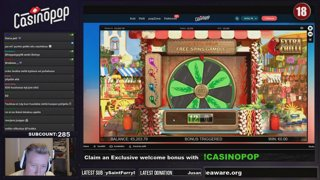 ULTIMATE BONUS HUNT & OPENING on !CasinoPOP - !RACE is LIVE with wager free prizes