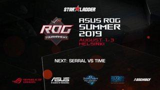 #4 [RU] Assembly Summer 2019: Serral (Z) vs TIME (T)