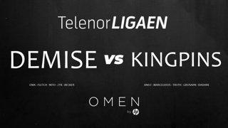 Telenorligaen Høst 2018: CS:GO - Runde 9 - Demise vs Kingpins