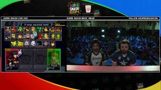 SSC 2019 SSBM - Liquid Hungrybox (Jigglypuff) VS PG Zain (Marth) Smash Melee Loser's Finals