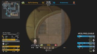 RERUN: CS:GO - Fnatic vs. HellRaisers [Mirage] Map 1 - Group A - ESL Pro League Season 9 Europe
