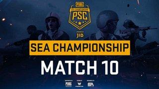 [PSC] [TH] JIB PUBG SEA Championship Phase 3  Game 10