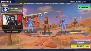 Trial Squad Goals with Nich Eh 30, Replayz and Turkey Lips  (2 min Delay) | FaZe SpaceLyon | 1 million wins
