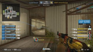 RERUN: Ghost Gaming vs. SK Gaming [Dust2] Map 2 - Group A Elmination Match - ESL One Belo Horizonte 2018