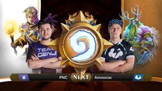 PNC vs Amnesiac - Hearthstone Grandmasters Americas S2 2019 - Week 7