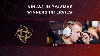 Winners Interview - Ninjas in Pyjamas vs Forward Gaming - CORSAIR DreamLeague S11 - The Stockholm Major