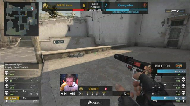 VOD: MAD Lions vs Renegades - DreamHack Open Leipzig 2020 - g3