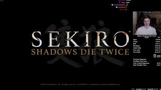 Sekiro Any% Speedrun in 27:08 (World Record)