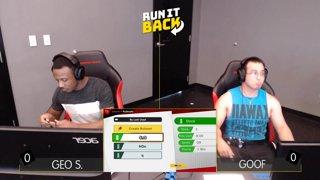 Run It Back - Geo S. (MegaMan) vs Goof (Hero) Pool E1 WQ - Smash Ultimate Singles