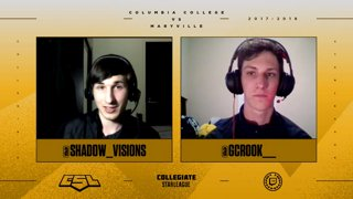 CLoL North Final: Columbia College vs Maryville - Game 3