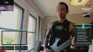Matt Heafy [Trivium] | San Antonio | Warm Up. Fort. Show (9:30pm ct) | !net !voice