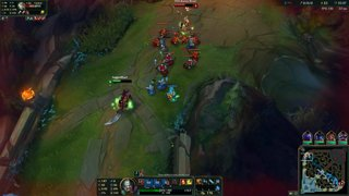 diving tryndamere xd