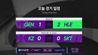 [2019 스무살우리 LCK Spring Split]  GEN vs. HLE - KZ vs. SKT