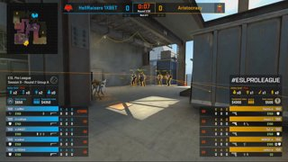 CS:GO - Aristocracy vs. HellRaisers [Vertigo] Map 1 - Group A - ESL Pro League Season 9 Europe