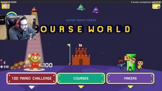 Mario Maker 3_30 Final Blue