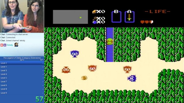 Zelda 1 2p1c in 46:46 (with FreyasSpirit)